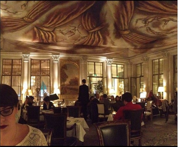 Tea time at Le Meurice