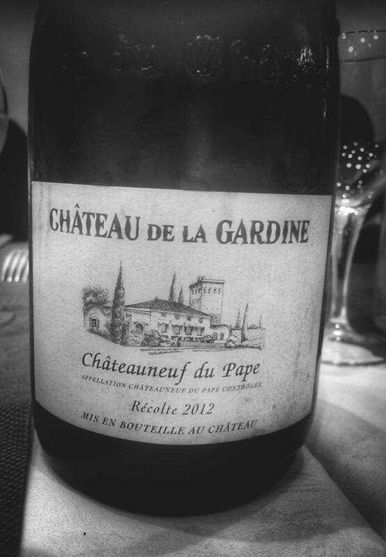 Chateauneuf du Pape Vin Blanc - Chateau de la Gardine 2012